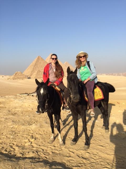 taz horse pyramid